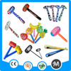 Eco-friendly PVC bulk inflatable hammer promotional Inflatable hammer toy