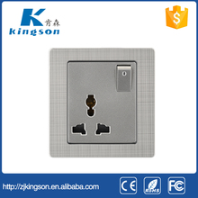Pakistan Energy saving electrical wall socket with switch