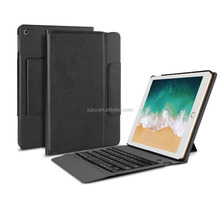 for Apple New iPad 9.7 luetooth Keyboard Stand Portfolio Case with Auto Sleep / Wake Feature and PU Leather
