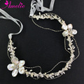Silver Color New Bohemia Headbands Shell Flower Hair Accessories Photo Prop Prom Dress Headpieces Engagement Favors