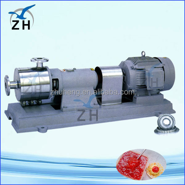 stainless steel ccm cream emulsifying mixing tank face cream mixer stainless steel centrifugal pump