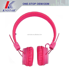 Fashion design colorful wireless headphones with bluetooth