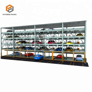 intelligent car parking guidance system/parking equipment/two-layer lifting parking system