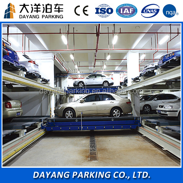Plane moving automated car parking system / Hydraulic car parking lift