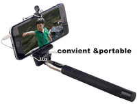 2015 cellphone selfie stick, cheap price extendable hand hold monopod selfie stick for cellphone