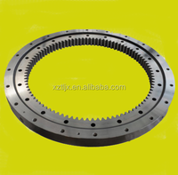 single row ball slewing bearing for auto-crane
