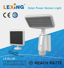 80 LED solar power motion sensor Garden security wall battery power lamp outdoor waterproof light