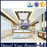 Best quality luxury style free standing jewelry store design