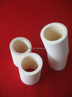 99.7% Al2o3 Inclined Cutting Alumina Ceramic Tube