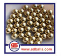 25.4mm copy gold plated stainless steel ball