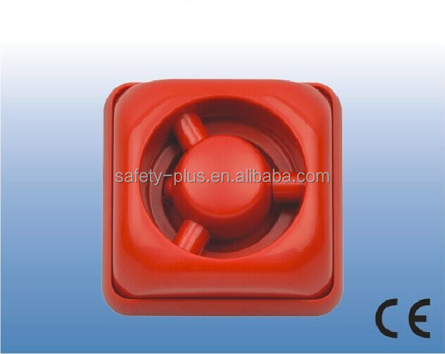 Mini strobe siren for fire alarm system CE RoHS