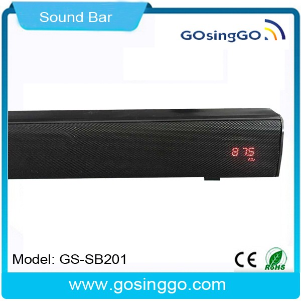 best seller LED display bluetooth soundbar with USB/FM radio