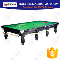 HALF Billiards ( 12 Years Factory ONLY for Billiard / Pool / Snooker Table) 5 Years Table Guarantee 12ft Snooker Table for sale