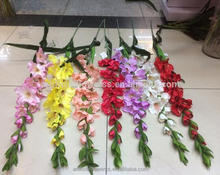 modern home decor artificial gladiolus flower bulbs for sale