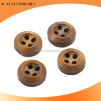 New Arrival Custom Wood Buttons 10mm 11mm For shirt