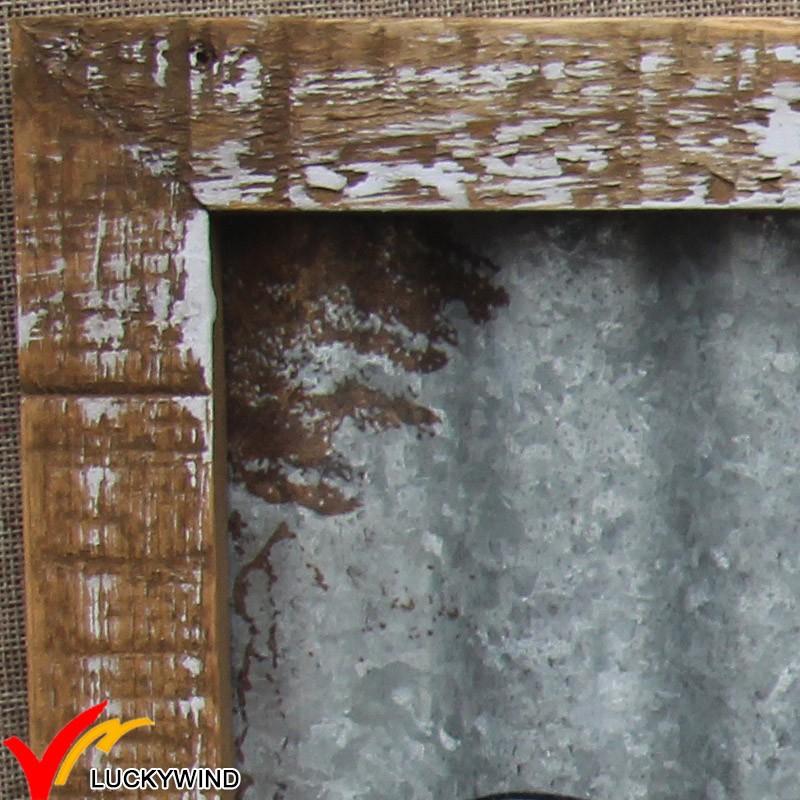 Metal zinc plaque wall art decoration for home buy for Decoration zinc
