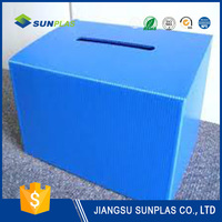 pp corrugated box for container
