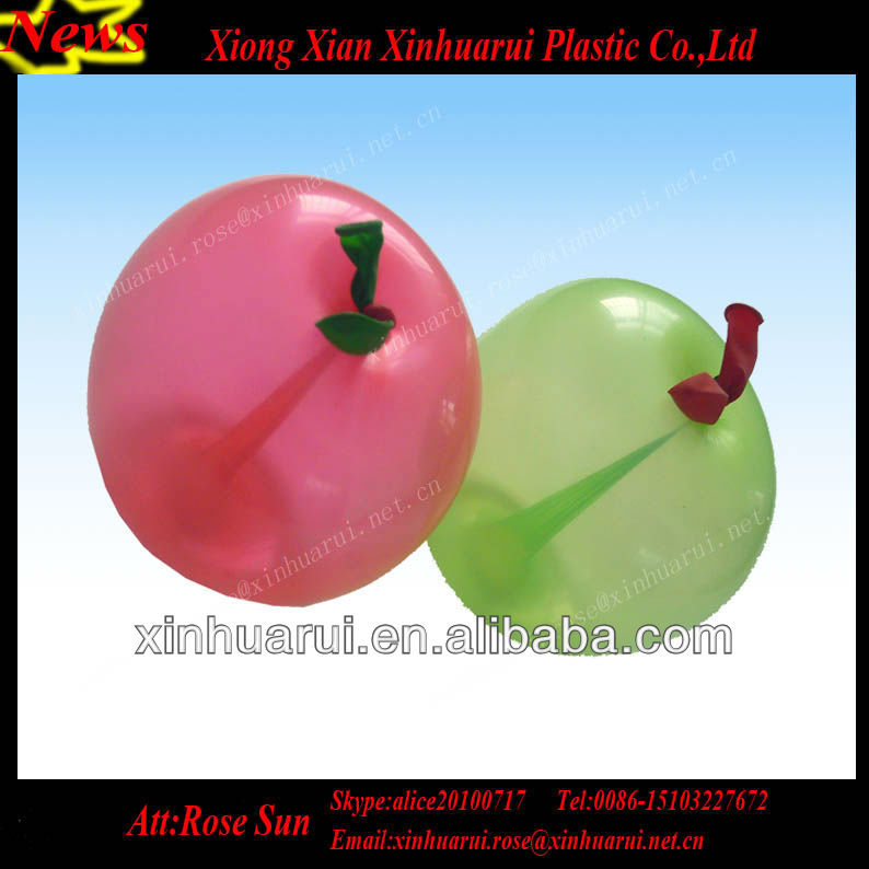 5inch Fruit Apple Shaped Latex Balloons