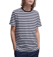wholesale striped t-shirt 95% polyester 5% spandex custom striped t shirt