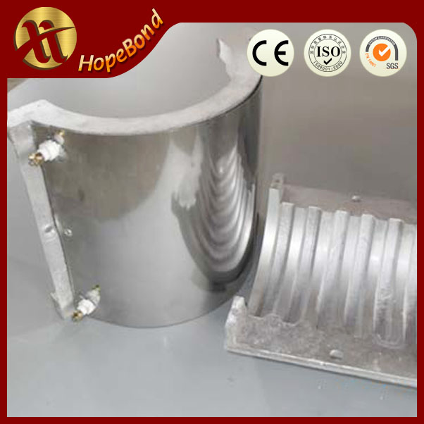 High temperature 4500w plastic extruder aluminium band heater