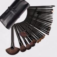 32pcs Superior Professional Soft Cosmetic Makeup Brush Set With Pouch Bag
