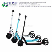 New design Shock absorption electric 8inch 10Ah 36V two wheel balance folding scooter for adults