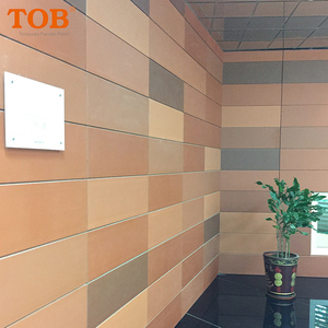 Decoration outdoor cladding exterior curtain terracotta wall panel