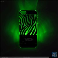 Zebra Pattern Cell Phone PC Case for iPhone 5/5S P-IPH5SHC010