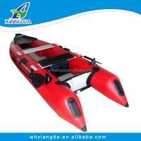 High speed Inflatable kayak with engine for fishing