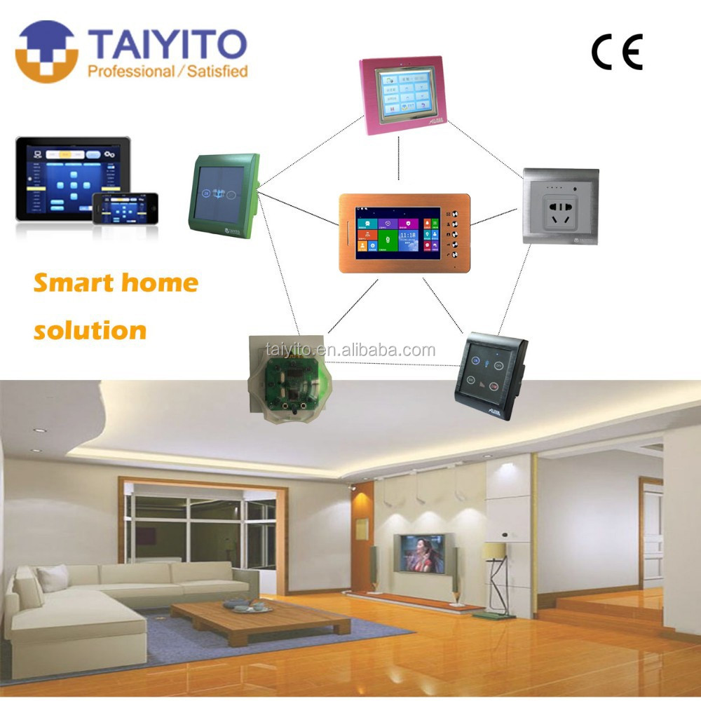 taiyito best selling ce digital visual intercom system with smart home gateway buy visual. Black Bedroom Furniture Sets. Home Design Ideas
