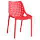 Cheap Stackable Plastic Bright Chairs Outdoor Furniture Chair