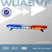 police, firefighters red blue led bar lights