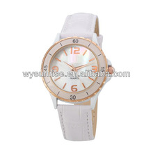 hot vogue women fashion 22mm leather cuff cord bracelet watch