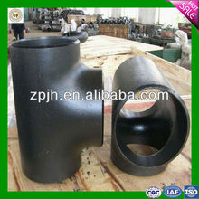 Carbon Steel Equal Tee Pipe Fittings Weight