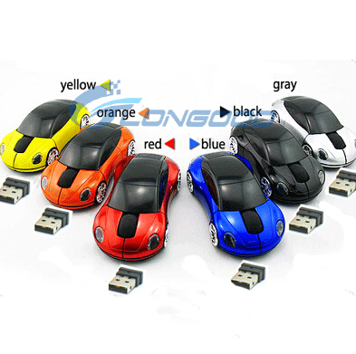 2015 hottest selling car USB wireless optical mouse for computer
