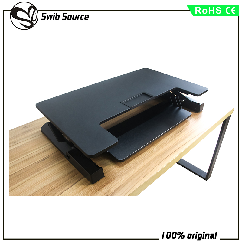 Office Table Using Height Adjustable laptop stand standing workstation computer desk VM-LD02-A1 stock offer