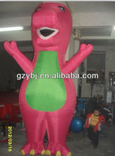 hot sale inflatable barney cartoon