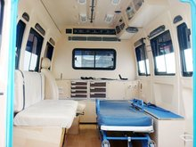 Ambulance interior Fabrication, Mfrs of Mobile hospitals, Medical equipments, Emergency handling instruments and disposables