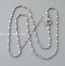 chain nose rin necklace