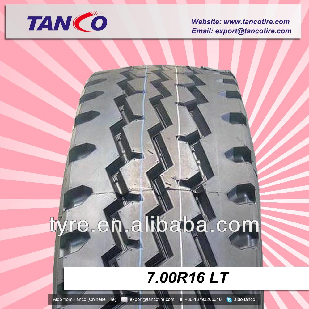 new pattern light truck tyre 700-16