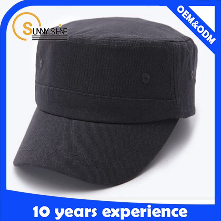 Custom new style plain baseball cap simply military hat wholesale