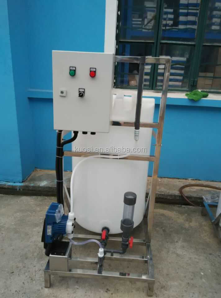Dosing system/ chemical solution dosing for water disinfection /automatic dosing system