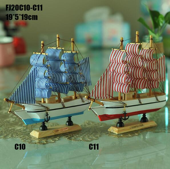 Wooden fishing boat model mare nostrum spanish boat souvenir nautical gifts handicrafts decorative boat model