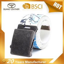 HotSales Custom Printing Webbing Canvas Cotton Belt With Cheap Price