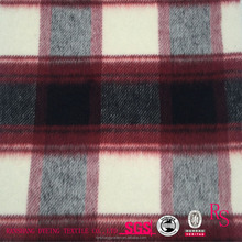 Garment Coat 100% Polyester Twill Plaid Wholesale Fabric