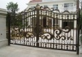 The Luxury garden outside metal gate designs