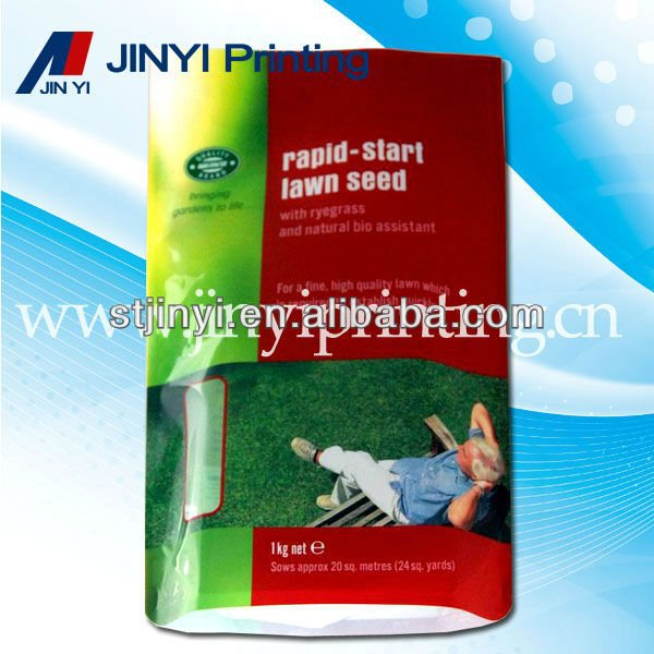 Laminated agricultural seed packaging bag