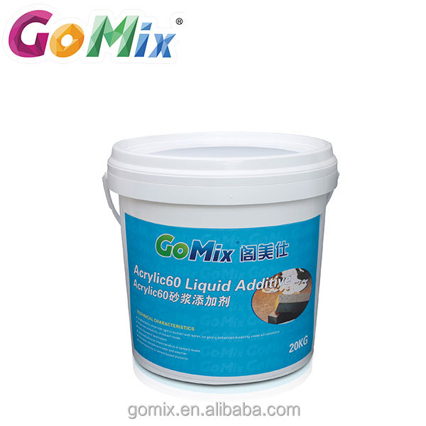 Impart elasticity cement based waterproofing acrylic polymer liquid concrete additive