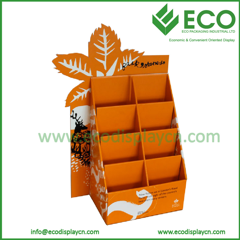 Folding Cardboard Display Box/ Countertop Display Box