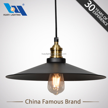 wholesale alibaba MOQ 50PCS Iron aluminum black chandelier light